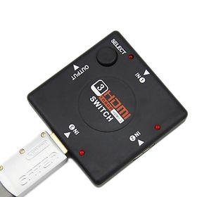 Αντάπτορας HDMI Switch με 3 Θύρες (Ήχος & Εικόνα)