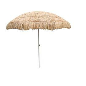 Ομπρέλα θαλάσσης 2,10m 'Tropical Style' (Hobbies & Sports)