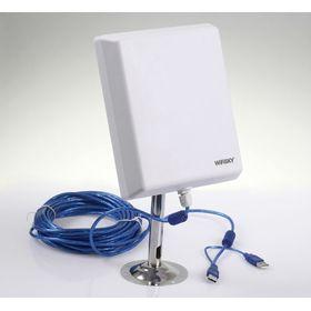 Εξωτερική, αδιάβροχη Κεραία WiFi με USB (Αξεσουάρ Η/Υ)