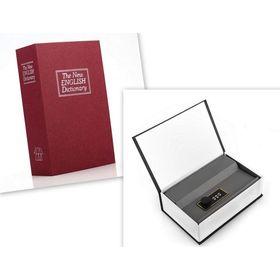 Βιβλίο Xρηματοκιβώτιο Aσφαλείας με Συνδυασμό 18 x 11 cm - Book Safe Dictionary (Ασφάλεια & Παρακολούθηση)