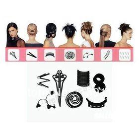 Σετ Αξεσουάρ Μαλλιών Hairagami για Απίθανα Χτενίσματα - Total Hair Makeover Kit (Ομορφιά)