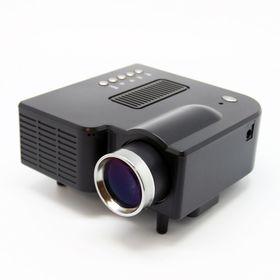 Φορητός Προτζέκτορας Mini Led HD Projector με θύρες USB & SD (Ήχος & Εικόνα)