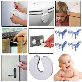 Πλήρες Σετ Προστατευτικών για Γωνίες, Πρίζες, Συρτάρια - 30 τεμάχια (Παιδί)