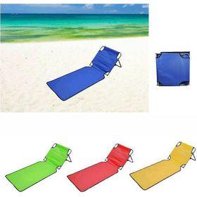 Φορητή Πτυσσόμενη Ξαπλώστρα Παραλίας - Στρώμα (Hobbies & Sports)