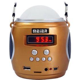 Φορητό Ραδιόφωνο USB/SD MP3 Player με Φακό LED (Ήχος & Εικόνα)