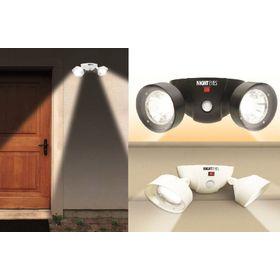 Ασύρματο Διπλό Φωτιστικό LED με Ανιχνευτή Κίνησης - Night Eyes (Φωτισμός)