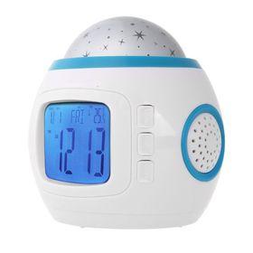 Μουσικό Ρολόι Προτζέκτορας,Θερμόμετρο και Ημερολόγιο (Ρολόγια)