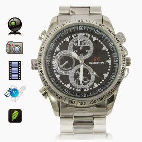 Πολυτελές Ρολόι Με Ενσωματωμένη Camera Και Αποθηκευτικό Χώρο 8GB (Ασφάλεια & Παρακολούθηση)