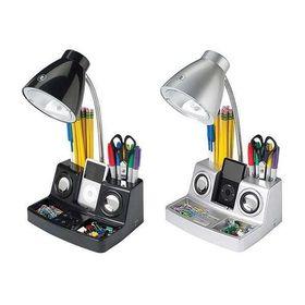 Σετ Γραφείου Φωτιστικό με Ηχεία, Ενισχυτή & 2 Μολυβοθήκες (Φωτισμός)