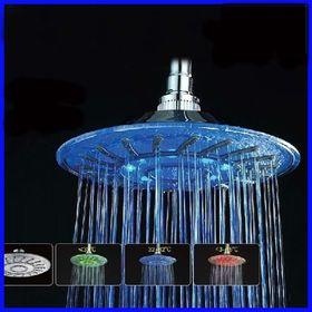 Κεφαλή Ντουζιέρας με Φωτισμό Led & Εναλλαγή Χρωμάτων (Ηλεκτρολογικά - Υδραυλικά)