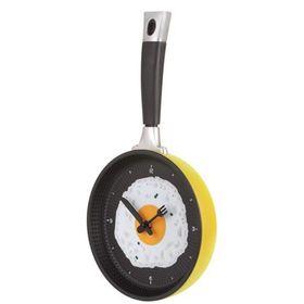 Ρολόι Τοίχου για την Κουζίνα με Σχέδιο Τηγάνι (Ρολόγια)
