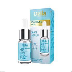 Ορός Προσώπου Με Υαλουρονικό Οξύ / 100% Serum-Delia Cosmetics (Ομορφιά)