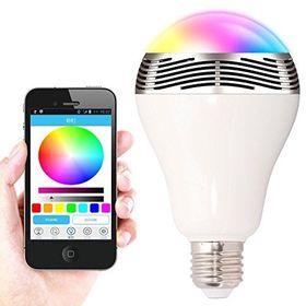 Λάμπα Bluetooth LED 6W & Ηχείο 3W E27 για Android & iOS - Smart Led Bulb (Φωτισμός)