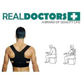 Μαγνητική Ζώνη Υποστήριξης Πλάτης-Real Doctors Posture Support Brace (Υγεία & Ευεξία)