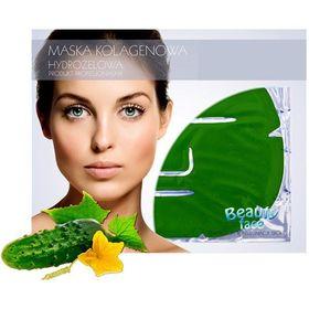 Μάσκα Προσώπου για Αναζωογόνηση και Λεύκανση με Κολλαγόνο και Εκχύλισμα Αγγουριού (Υδρογέλη) (Ομορφιά)
