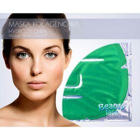 Αντιοξειδωτική Μάσκα Προσώπου με Κολλαγόνο, Πράσινο Τσάι και Βιταμίνες (Υδρογέλη) (Ομορφιά)