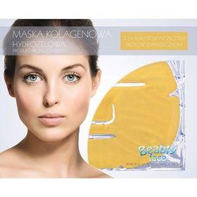 Αντιγηραντική Μάσκα Προσώπου με Κολλαγόνο, Υαλουρονικό Οξύ και 24Κ Χρυσό (Υδρογέλη) (Ομορφιά)