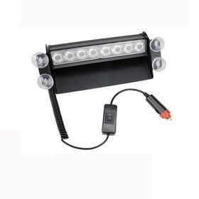 Φώτα Led Ασφαλείας με 8 Led και Τοποθέτηση στο Παρμπρίζ (Αξεσουάρ αυτοκινήτου)