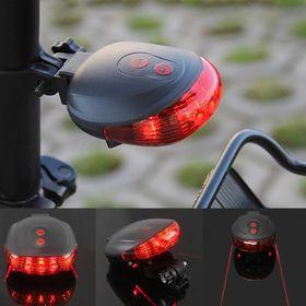 Φως Ποδηλάτου με Laser Διπλής Δέσμης (Hobbies & Sports)