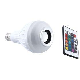Λάμπα LED RGB που Αλλάζει Χρώματα και Ηχείο Bluetooth με Τηλεχειριστήριο (Φωτισμός)