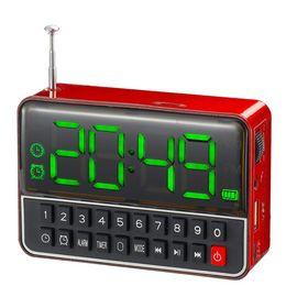 Ψηφιακό Ραδιόφωνο Ρολόι MP3 Player Usb/MicroSD WS-1513 (Ήχος & Εικόνα)