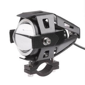 Προβολέας  Μοτοσυκλέτας  LED U7 125W με Angel Eye (Αυτοκίνητο - Μηχανή - Σκάφος)