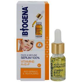Ορός 100% Serum Προσώπου με Βιταμίνες A + E + F Biogena Pharma 10ml (Ομορφιά)