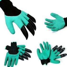 Γάντια Κηπουρικής Με 4 Νύχια Για Σκάψιμο - Garden Genie (Είδη Κήπου)