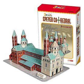 Τρισδιάστατο Παζλ Καθεδρικός Ναός του Speyer με 72 Κομμάτια (Παιδί)