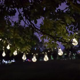 Διακοσμητική Γιρλάντα Μπαταρίας 10 Λαμπτήρων με Φωτάκια Led και Καλώδιο Χαλκού 3m ()