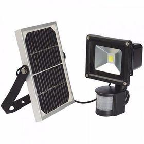 Ηλιακός Προβολέας LED 10W με Ανιχνευτή Κίνησης IP66 900LUMEN (Φωτισμός)