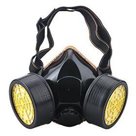 Αντιασφυξιογόνα Μάσκα Διπλή με Φίλτρα Ενεργού Άνθρακα (Εργαλεία)