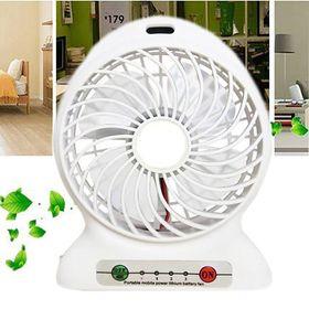 Επαναφορτιζόμενος Ανεμιστήρας με Μπαταρία Λιθίου και Δυνατότητα Φόρτισης Συσκευών (Ψύξη - Θέρμανση)