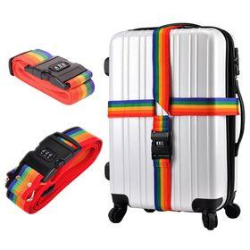 Ιμάντες Βαλίτσας και Αποσκευών με Συνδυασμό Ασφαλείας Σετ 2 Τεμαχίων (Hobbies & Sports)