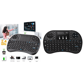 Ασύρματο Μίνι Πληκτρολόγιο και Ποντίκι - Wireless Keyboard & Mouse Combo (Αξεσουάρ Η/Υ)