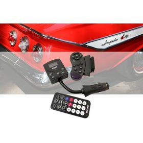 MP3 Player και Αναμεταδότης FM Αυτοκινήτου με Χειριστήριο στο Τιμόνι Marshal ME-191 (Αξεσουάρ αυτοκινήτου)