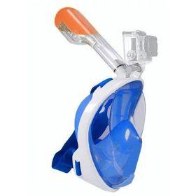 Ολοπρόσωπη Μάσκα με Αναπνευστήρα και Βάση για Action Camera (Hobbies & Sports)