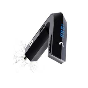 Bluetooth/USB/MP3 FM Transmitter με Φορτιστή USB 2A και Σφυράκι Θραύσης Κρυστάλλων (Αξεσουάρ αυτοκινήτου)