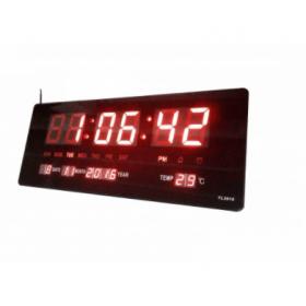 Ψηφιακό Ρολόι-Πινακίδα LED με Θερμόμετρο και Ημερολόγιο JH-3615 (Ρολόγια)