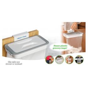 Βάση με Καπάκι για Στήριξη Σακούλας Σκουπιδιών-Attach-A-Trash (Κουζίνα )