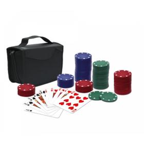 Πολυτελές Βαλιτσάκι Πόκερ με 150 Laser Μάρκες Casino 11,5g & Τράπουλα Deluxe (Hobbies & Sports)
