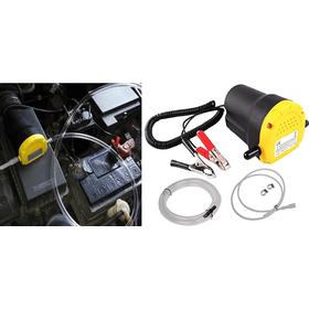 Φορητή Αντλία Αλλαγής Λαδιών Αυτοκινήτου 12V 60W S-AMP (Αξεσουάρ αυτοκινήτου)