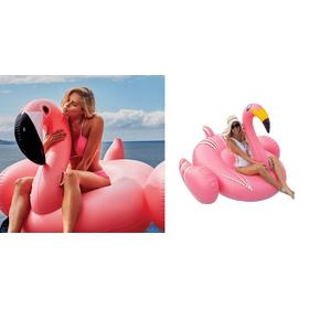 Γιγαντιαίο Φουσκωτό Στρώμα Θαλάσσης Ροζ Φλαμίνγκο (Hobbies & Sports)