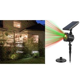 Ηλιακός Προβολέας Laser Νυχτερινού Διακοσμητικού Φωτισμού - Solar Star Laser SP25W (Φωτισμός)