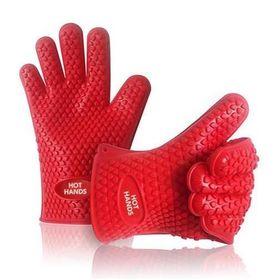 Πυρίμαχα Αντιολισθητικά Γάντια Σιλικόνης - Σετ 2 Τμχ (Κουζίνα )