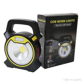 Επαναφορτιζόμενος Φακός Εργασίας LED & Power Bank - Cob Work Light Usb Charging (Φωτισμός)