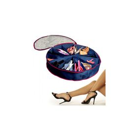 Θήκη Οργάνωσης Παπουτσιών Στρογγυλή 12 Θέσεων - Shoe Storage Go-Round (Οργάνωση σπιτιού)