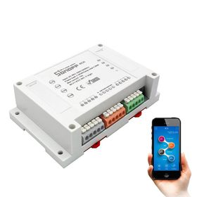Ασύρματος Τετρακάναλος Διακλαδωτής Φωτισμού και Ηλεκτρικών Συσκευών WiFi-4CH (Τεχνολογία )