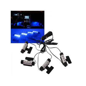 Διακοσμητικός Φωτισμός Καμπίνας Αυτοκινήτου 4XLED 3W/12V (Αξεσουάρ αυτοκινήτου)