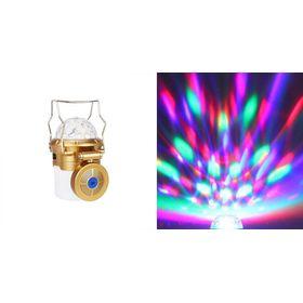 Επαναφορτιζόμενο Φανάρι Ηχείο Bluetooth με Εντυπωσιακό Φωτισμό & Λειτουργία Power Bank (Φωτισμός)
